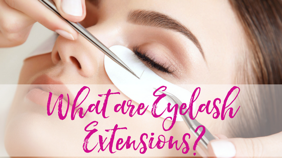 What are Eyelash Extensions? Is that your real job?