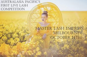 Fantasy Eyelash Extensions Competition with Pixie Ambler.