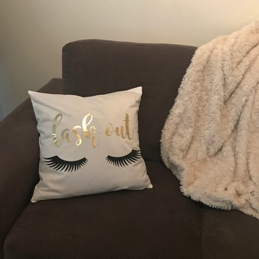 eyelash extensions pillow case