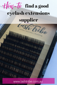 best eyelash extensions supplier