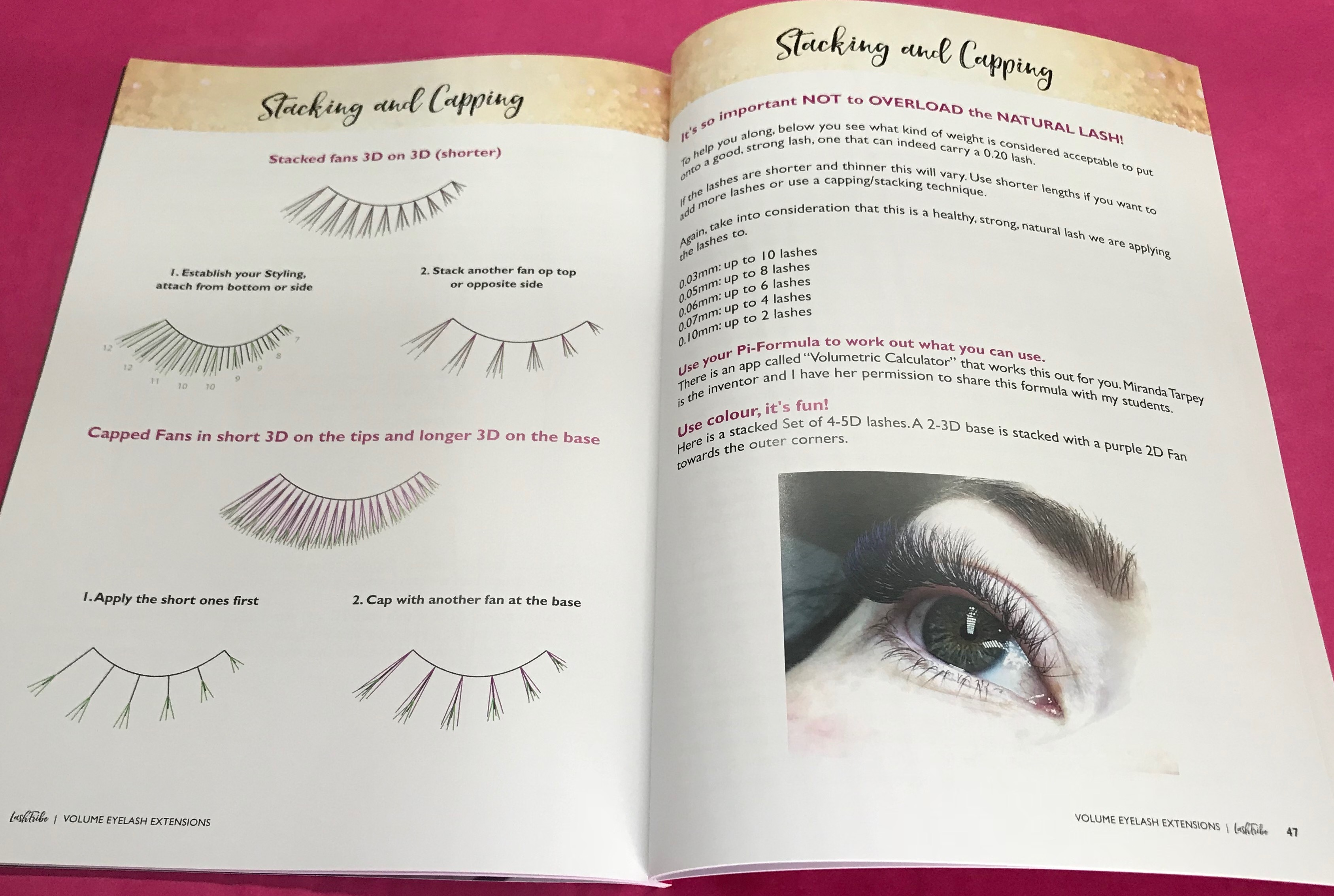 Volume Eyelash Extensions Manual Lash Tribe